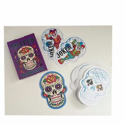 Candy Skull Shaped Playing Cards,Standard Size, Día de Muertos, Fathers Day - Fathers Day Candy Card