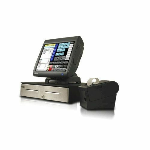 Micros Workstation 5A WS5A WS5 POS Terminal Bundle with Printer and Cash Drawer