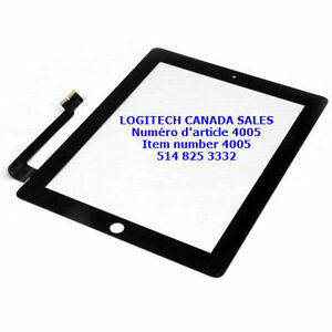 Black Touch Screen Glass Lens Digitizer Fit For New iPad 3 4 Gen