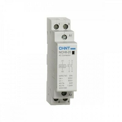 Chint Modular Contactor 20A 2 Pole 230VAC 2 NC