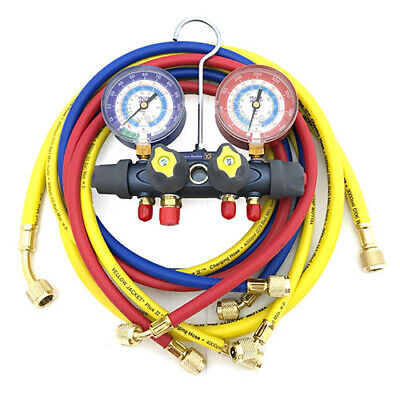 Yellow Jacket 49987 Titan 4-valve Test Charge Manifold Psi F