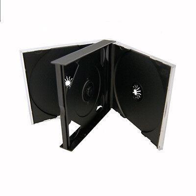 Black Quad 4 Disc Cd Jewel Case
