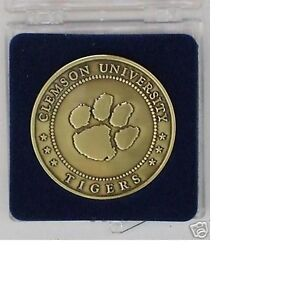 1981 CLEMSON TIGERS FOOTBALL NATIONAL CHAMPIONSHIP COIN