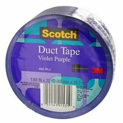 Scotch Duct Tape Violet Purple 1.88-inch By 20-yard