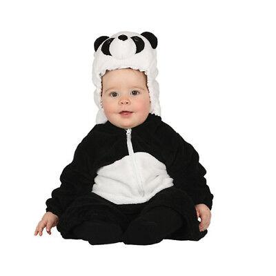 costume panda orsetto bambino neonato 6 - 12 mesi carnevale