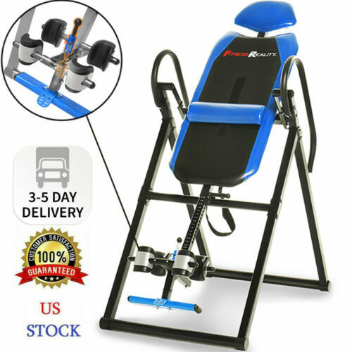 NEW Fitness Reality 690XL Triple Safety Locking Inversion Table w/ Lumbar Pillow