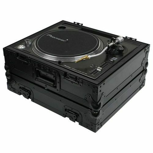 Odyssey Black Label Universal Case for Technics 1200 Style DJ Turntables