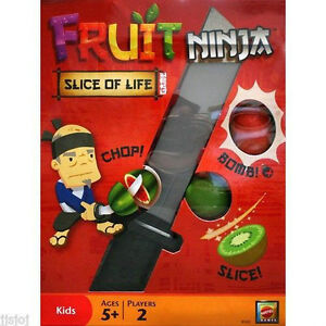 BRAND NEW!! Fruit Ninja-Slice of Life- Card/Real-Action Game London Ontario image 1