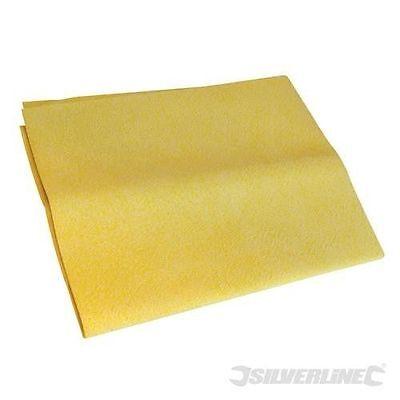 synthetisches Chamois Tuch Autoleder Fensterleder KFZ Haushalt 400x300 mm ()