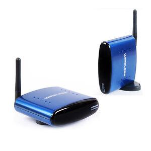 PAT-630 5.8Ghz Wireless Funk AV Sender Transmitter+Empfänger 3RCA Audio Video TV
