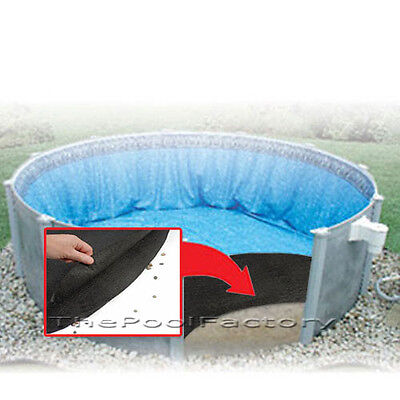 POOL LINER FLOOR PAD - ARMOR SHIELD GUARD - ALL SIZES  for Above Ground Pools  - Poolguard Pool