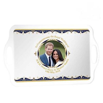 Royal Wedding 2018 Tray Large Prince Harry & Meghan Markle Commemorative