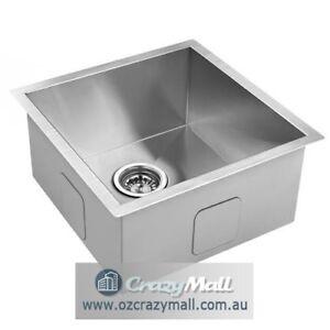 handmade stainless steel undermounttopmount kitchen laundry sink. beautiful ideas. Home Design Ideas