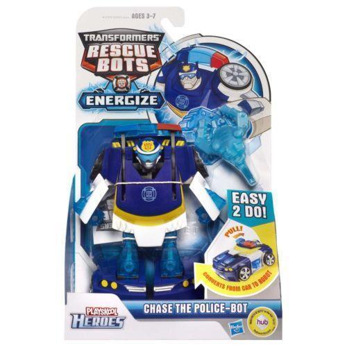 Rescue bots chase toys hobbies ebay - Playskool helmet heroes police officer ...