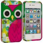 iPhone 4 Hard Case Owl