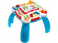 Leapfrog learn and groove activity musical table baby toddler toy bilingual english french