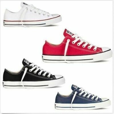 Top Female ALL STARS Chuck Taylor Ox Canvas Casual Shoes Low Top -