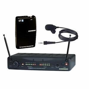 Samson Stage 55 Wireless VHF Instrument System W/ Case