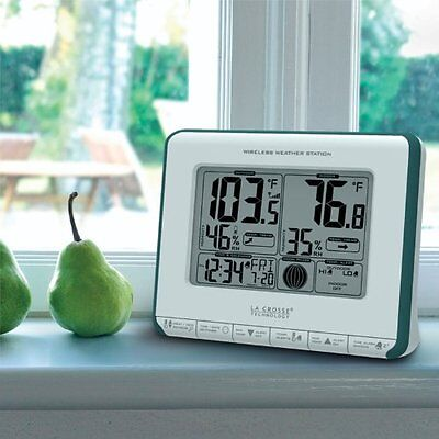 La Crosse Technology 308-1711BL Wireless Weather Station with Heat Index and Dew