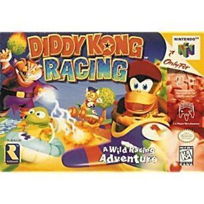 Used, Diddy Kong Racing Original Authentic Nintendo 64 (N64) Game TESTED CLEANED (dd) for sale  Ladoga