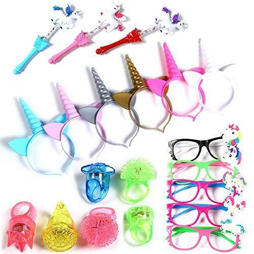 20 Pieces Unicorn Headband Pack Party Supplies Favors for Gi