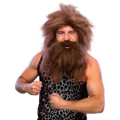 Rubie's Costume Characters Caveman Beard And Set Wig Beard Sets Character Wigs