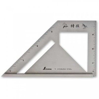 Shinwa Japanese Stainless Steel Mitre Square Imperial 510016
