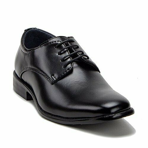 Men's 20626 Classic Round Toe Dress Oxfords Lace Up Suit Shoes