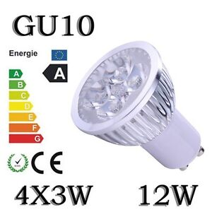 High Quality GU10 LED Lights Bulb Lamp Spotlight Downlight 9W/12W Cup Lights