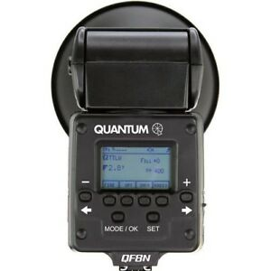 Quantum Instruments Qflash TRIO Flash for Nikon Cameras and More