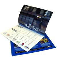 Custom Printed Multipage Wall Calendars 24pg 8.5x11 /letter size