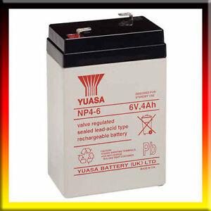 Yuasa 6v 4ah batterie de rechange pour santa fe train peg perego - Parkside batterie de rechange ...