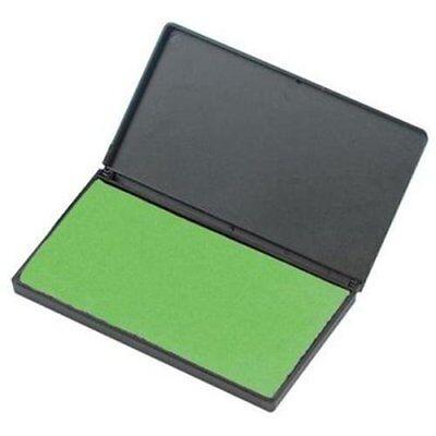 """Cli Stamp Pad - 2.8"""" X 4.3"""" - Foam Pad - Green Ink (LEO92225)"""