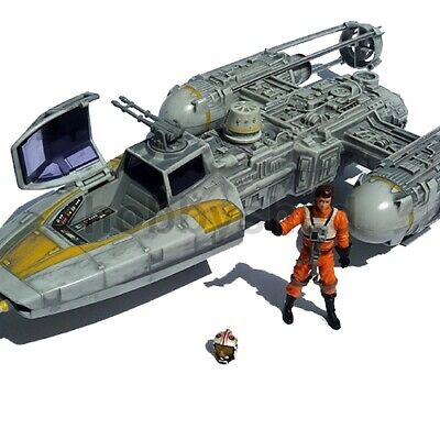 STAR WARS GOLD SQUADRON Y-WING + 2008 Toys R Us Lt LEPIRA FIGURE 30th TAC HASBRO