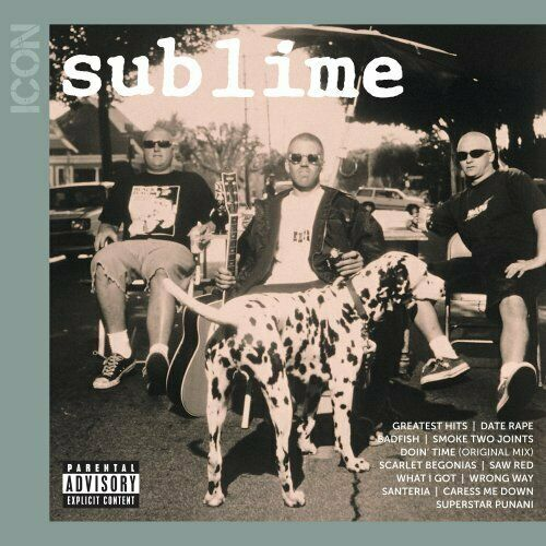 SUBLIME CD - ICON: THE GREATEST HITS [EXPLICIT](2011) - NEW UNOPENED - ROCK