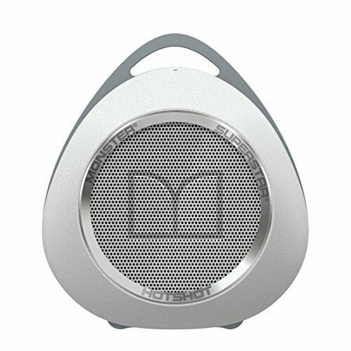Monster Portable Rechargeable Bluetooth Speaker w/ Aux & Mic