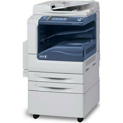 Xerox Workcentre 7545 Mfp A3 Color Tabloid Printer Copier Scan 2 Trays