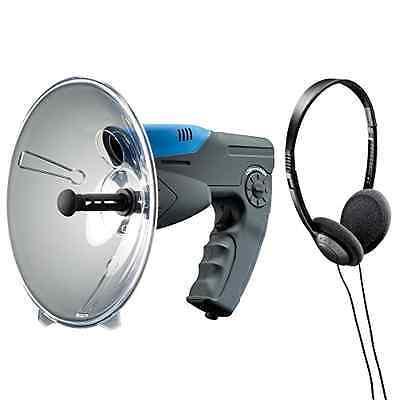Parabolic Microphone Spy Listening Device Bionic Ear Sound Amplifier Toy 300 Ft