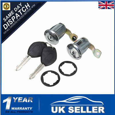 2 Barrel Lock Set Door Locks Key Set For Peugeot Partner Xsara Citroen Berlingo