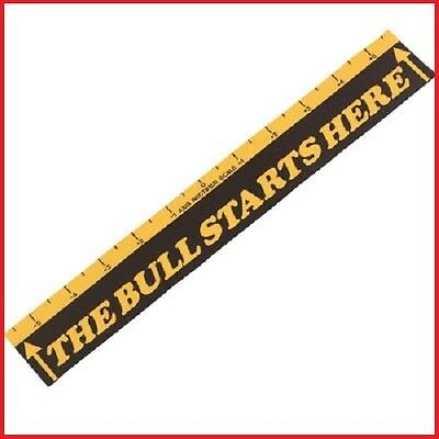 DART THROW LINE MARKER THE BULL STARTS HERE Board Starting shooter line sticker