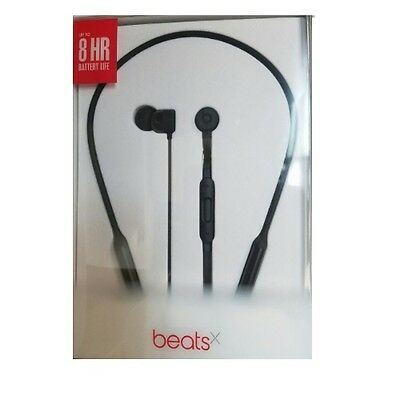 Beats By Dre - NEW Beats by Dr. Dre  BeatsX Black Wireless In Ear Headphones Bluetooth