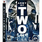 Sony PlayStation 3 Army of Two Video Games