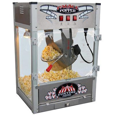 Funtime FT1626PP Palace Popper 16 OZ Commercial Bar Style Popcorn Popper - Pop Corn Machine