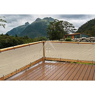 Mesh Elegant Privacy Screen Great for Patio Balcony Pool Porch 35 Inch & 10 Feet ()