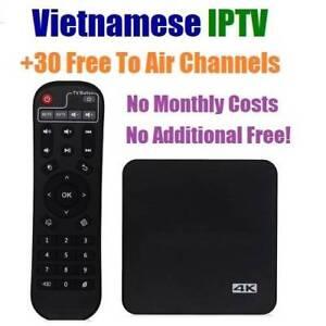 VIETNAMESE IPTV Android Smart TV Box