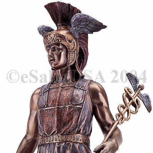 Hermes Statue Ancient Olympian Greek God Homeric Sculpture Mercury Pheneos Lire