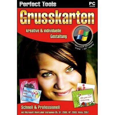 Perfect Tools: Grusskarten (kreative & individuelle Gestaltung) - PC CD-ROM