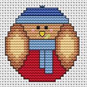 Robin Cross Stitch Kit