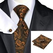 Mens Silk Tie Set
