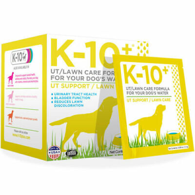 K-10+ - UT Support/Lawn Care Formula for Your Dog's Water - 1 oz. best by